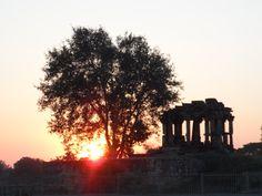 A temple around khajuraho