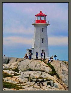 """Lighthouse Peggy's Cove"" by Dave Hughes, via 500px."
