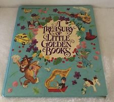 A Treasury of Little Golden Books: 30 Best-Loved Stories, Hardcover 1982