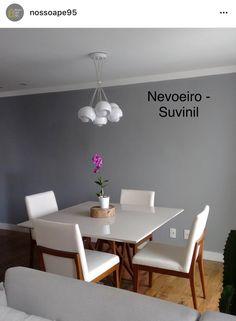 Suvinil pintura Living Room Decor, Bedroom Decor, Wooden Pallet Furniture, Minimal Home, Love Home, Grey Walls, Sweet Home, House Design, Interior Design
