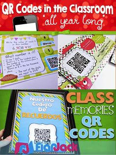 Have you tried using QR codes in your classroom? Here's a summary post of some of the fun ways you can use QR codes in your classroom all throughout the school year. Teaching Technology, Technology Integration, Teaching Tools, Educational Technology, Technology Tools, Teaching Ideas, Learning Stations, Classroom Organization, Classroom Ideas