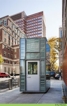 WXY Architecture Designs Security Booths to Wow