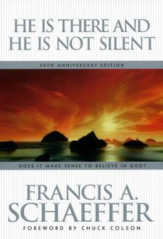 """He is There and He is Not Silent"" by Francis Schaeffer. It's my favorite of his books I've read thus far :D"