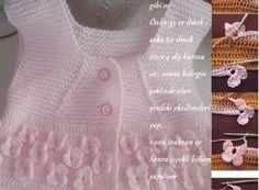 Kelebek Bahçesi Bebek Yelek Modeli #bebekörgüleri #bebekyelekleri #örgü #yelek #yelekmodelleri