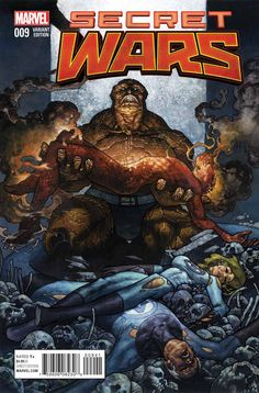 """Images for : Ben Grimm Mourns On Simone Bianchi's """"Secret Wars"""" #9 Variant - Comic Book Resources"""