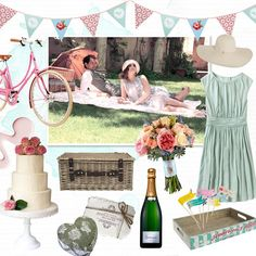 Mood Board: Think picnic-chic for summer-loving reception inspiration