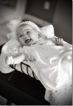 This is such a sweet way to document your babies blessing