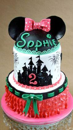Minnie Mouse, Disneyworld Birthday Cake