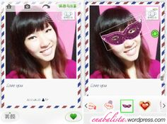 POCO美人相机 POCO Beauty Camera App Review Greeting Card