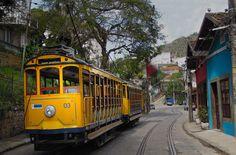 Rio de Janeiro, Brasil - Santa Teresa (bonde)
