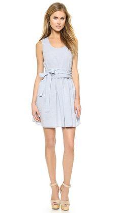 Jill Stuart Lisa Chambray Dress