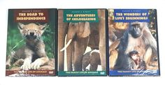 Reader's Digest DVD - The Family Life Of Animals -  Box Set of 3 DVDs - New  #ReadersDigest