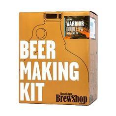 Een speciaal biertje is pas écht speciaal als je 'm zelf hebt gemaakt! Met de Brooklyn Brew Shop kit kun je thuis de lekkerste bieren maken. Met de complete set kun je direct van start en maak je genoeg voor een mooie avond met je vrienden.