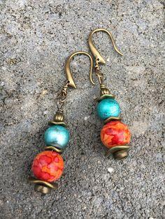 Boho Earrings Beach Earrings Dangle Earrings Unique