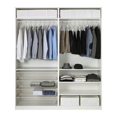$730 PAX Wardrobe  - IKEA