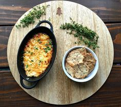 Warning. Do not make this recipe if you are trapped home alone with a napping toddler. I tell you this from experience. Because unless you have people to share this amazing Honey Roasted Feta Dip with, I guarantee you will eat it all yourself. Not that I would blame you. I mean, it's Feta. And...
