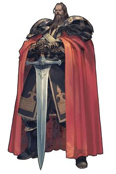 *Tomahas Udhruem, human, warrior. King and ruler of *Fryehill.