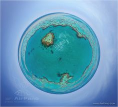The Great Barrier Reef, Australia • AirPano.com • Photo