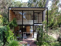 CHARLES AND RAY EAMES house and studio