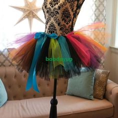 Womens Girls Fashion Mini Tutu Skirt Pettiskirt Ballet Dancewear Clubwear B