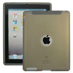 Soft Shell Logo (Grå) Deksel for iPad 3