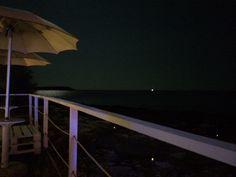 Kalura beach by night