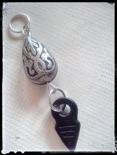 """Tribal Tear"" pendant by Zuzka´s workshop"
