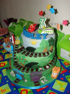 Like this Chuggington cake Chuggington Party Pinterest