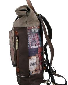 Atypicky tvarovaný dámský batoh nabízí dostatek prostoru, který můžete využít při jakékoliv příležitosti. Zamilujete si na něm ikonický motiv nebo třeba originální vintage design. #damskebatohy #batohyanekke #anekke #differentcz Vintage Design, Egypt, Backpacks, Bags, Fashion, Handbags, Moda, Fashion Styles, Backpack