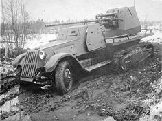 ZiS-41 Russian Halftrack