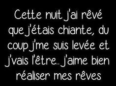 That night, I dreamed that I'm bored, so I'm up and going . That night, I dreamed that I Funny Logic, Funny Quotes, Funny Memes, Quotes About Everything, Quote Citation, Thinking Quotes, My Dream Came True, French Quotes, Bad Mood