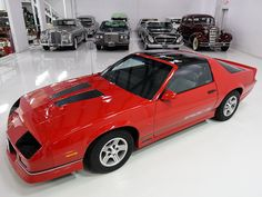 Chevrolet would launch the generation Camaro to the market in 1982 which was the first Camaro that incorporated a hatchback body style. The sporty design quickly caught the attention of the press with MotorTrend. Camaro Iroc, Chevrolet Camaro, Chevrolet Caprice, Rally Car, American Muscle Cars, Hot Cars, Dream Cars, Classic Cars, Jet Skies