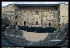 Theatre antique, Orange. Provence, France (color)