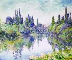 Claude Monet - Morning on the Seine, near Vetheuil, 1878.