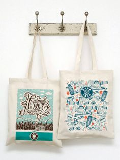 Sale! COMB 2 Band Loch's totebags