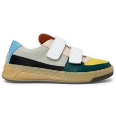 wholesale dealer 52761 dc9c7 Acne Studios - Perey Colour-Block Leather Sneakers