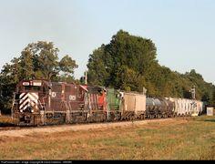 RailPictures.Net Photo: KRR 3805 Kiamichi Railroad EMD GP35M at Idabel, Oklahoma by David Hawkins - KB5WK
