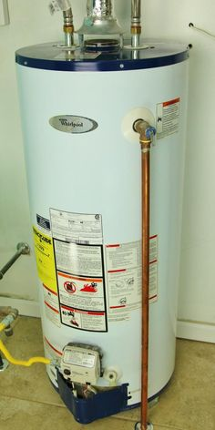 The Rheem Performance 40 Gal Natural Gas Tall Water Heater Es With A 36 000 Btu Hour Environmentally Friendly Low Nox Burner That Provides Le - Natural Gas Water Heater, Water Heaters, Water Heating Systems, Water Heater Installation, Water Tank, Plumbing Problems, Basement Renovations, Tapestry Wall, Electrical Wiring