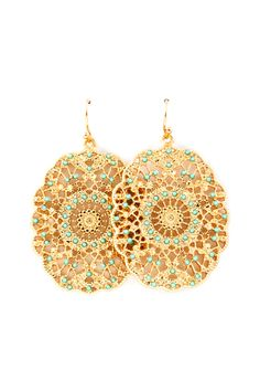 Filigree Isis Earrings | Awesome Selection of Chic Fashion Jewelry | Emma Stine Limited