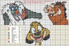 héros-cartoon-bd - disney - point de croix - cross stitch - Blog : http://broderiemimie44.canalblog.com/