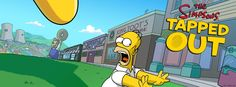 "The Simpsons ""Tapped Out"" online game by EA.  I never played Farmville, but this one is kind of addicting.  I love the Simpsons."