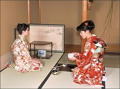 Sadoh, Tea ceremony. must be at Hatsugama, the First Tea Ceremony at the New Year.