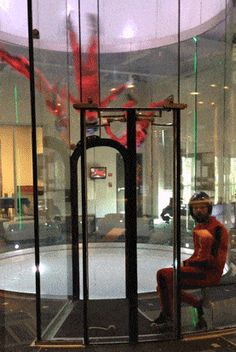 There is a way to experience the feeling of free falling in about an hour without leaving terra firma: indoor skydiving. We visit iFLY Chicago for a new kind of aerial thrill ride.