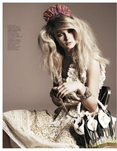 New Romantic | Riley Hillyer | Roberto D'este #photography | Grazia Italia May 2012