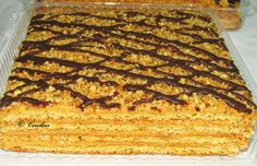 Romanian Desserts, Romanian Food, Food Cakes, Food Festival, Diy Food, Banana Bread, Food To Make, Cake Recipes, Caramel