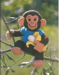 Mesmerizing Crochet an Amigurumi Rabbit Ideas. Lovely Crochet an Amigurumi Rabbit Ideas. Crochet Gratis, Crochet Amigurumi, Amigurumi Patterns, Crochet Dolls, Crochet Patterns, Crochet Monkey Pattern, Cat Amigurumi, Amigurumi Tutorial, Crochet Ideas