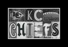 Kansas City Chiefs Print. $20.00, via Etsy.