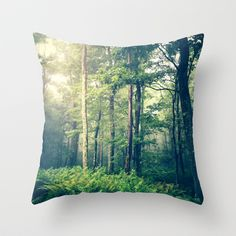 Inner Peace Throw Pillow by Olivia Joy StClaire - $20.00