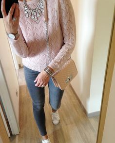 Look du jour Anniversaire Dans La famille aujourd hui ! Slim , pull, manchette et collier by @solene029  Bon dimanche !  #photooftheday#lookoftheday#mylook#dimanche#daywithfamily#dadbirthday#love#douceur#rosepoudre#outfit#outfitoftheday#like4like#like4follow#pull#mohair#irise#pink#pinkaddict#rose#rosepoudre#slim#grey#baskets#baskets#puma#pumaheart#igfashion#igbreizh#repasdefamille#