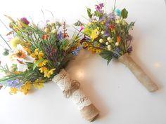 15 pc.Wildflower Silk Bridal Bouquet. 2 by FantasyWedding on Etsy